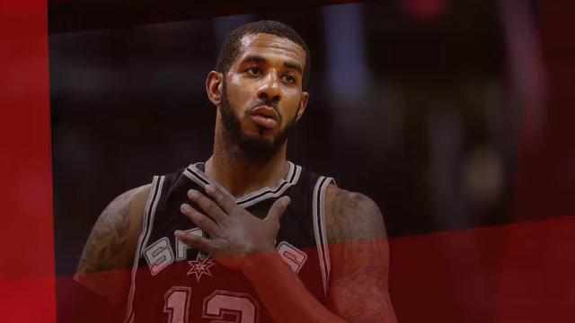 San Antonio Spurs forward LaMarcus Aldridge has been ruled out indefinitely due to minor heart arrhythmia.