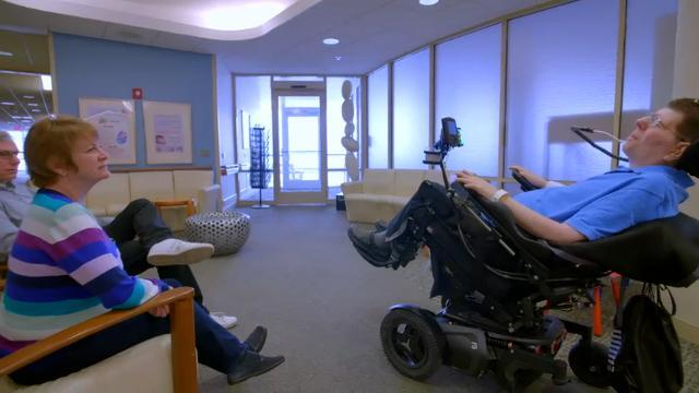 Implants help paralyzed Ohio man feed himself