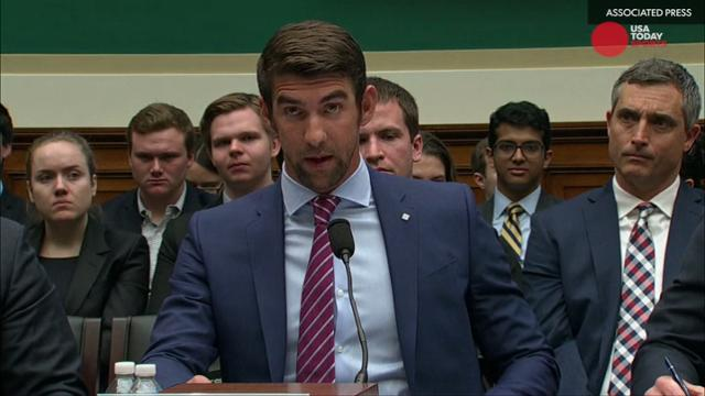 Former Olympian Michael Phelps spoke in front of Congress to ensure anti-doping system is fair for all athletes.
