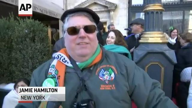 St. Patrick's Parade Takes Over NYC's Fifth Ave