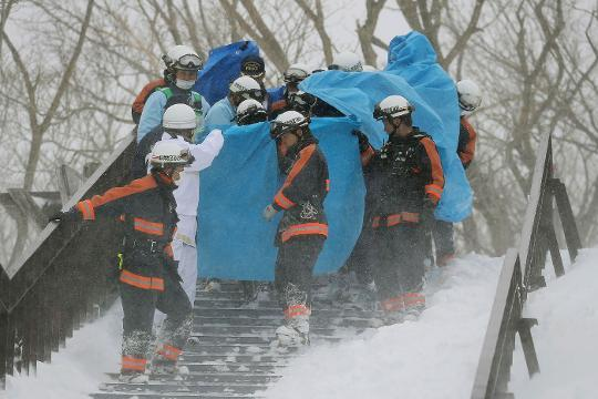 Raw: Students Feared Dead in Japan Avalanche