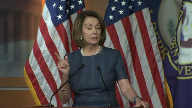 Pelosi: GOP Health Plan 'Robinhood in Reverse'