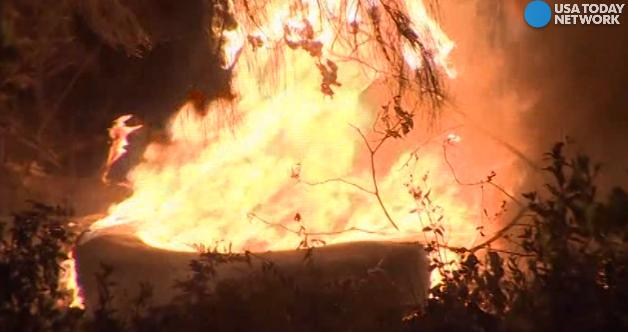 Wildfires rage across several states