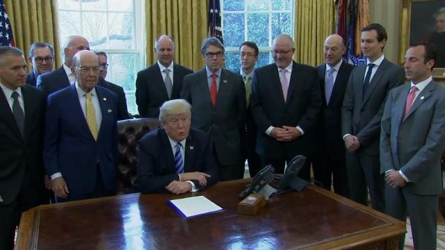 Trump on Keystone: 'Great Day for American Jobs'