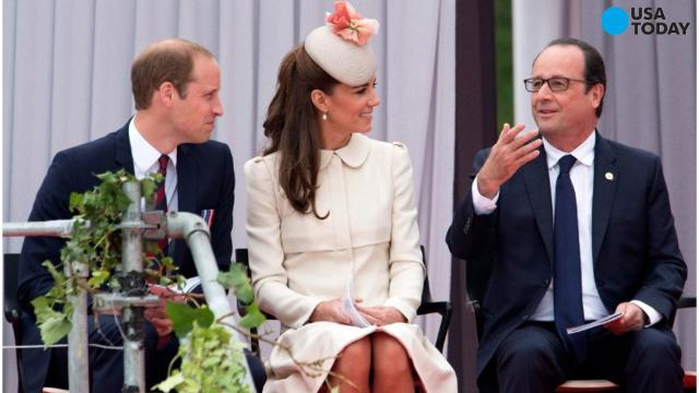 Prince William and Duchess Kate of Cambridge at the