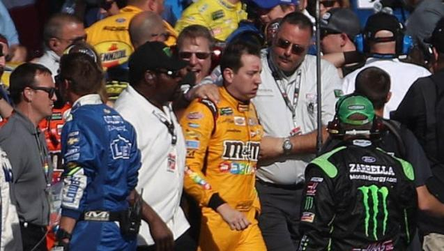 Will tensions extend to NASCAR race at Phoenix?