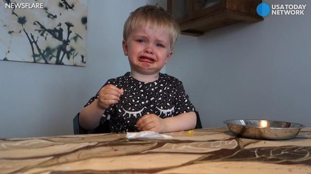 Toddler gets all the feels from opera