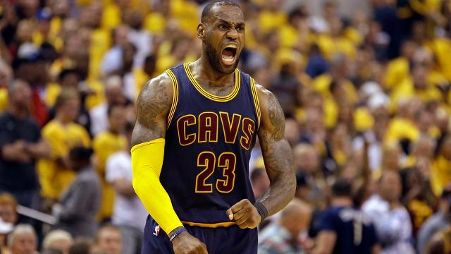 LeBron James leads Cavaliers' historic comeback against Pacers