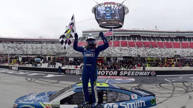Jimmie Johnson wins Food City 500 at Bristol