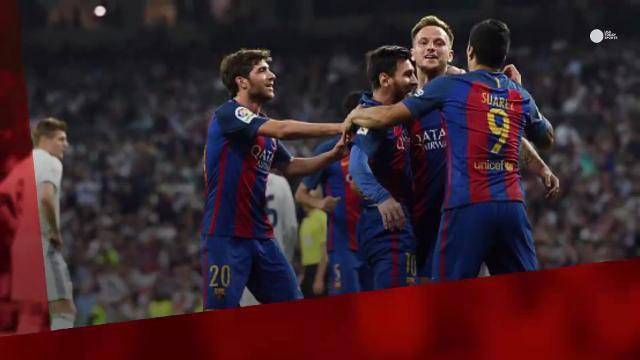Messi adds career milestone in Barcelona's 'El Clasico' win