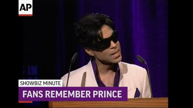ShowBiz Minute: Gooding Sr; Prince, Damon