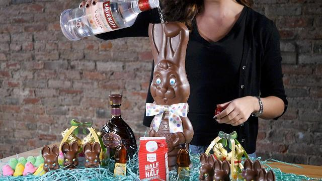 This is the ultimate Easter candy cocktail