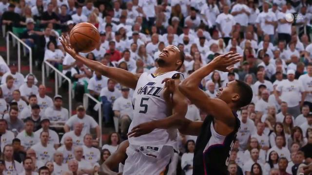 Jazz even series at 2-2 with Clippers