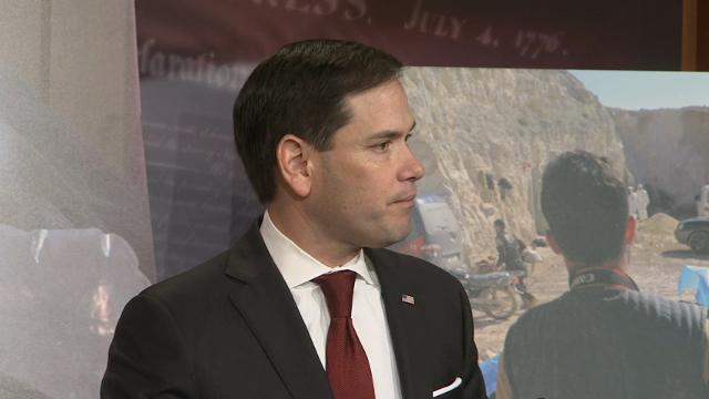 Rubio: Assad, Putin Should Be Held Accountable