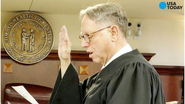 Kentucky Judge recuses himself from gay adoption cases