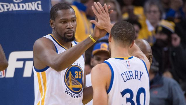 How the Warriors fared without Kevin Durant
