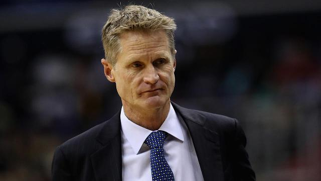 Warriors still concerned with coach Steve Kerr's return