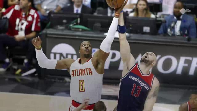 Hawks, Raptors win in busy night of East playoff action