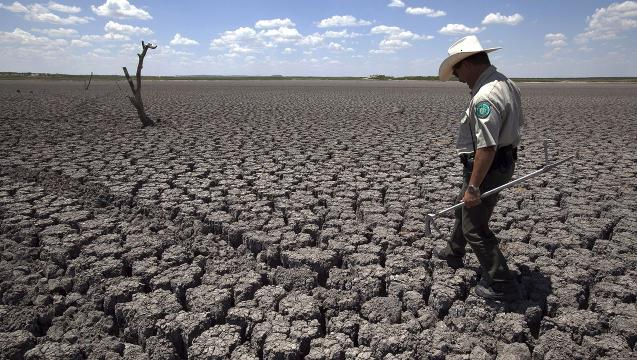 Drought conditions in America at historic low