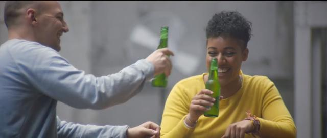 Heineken reaches across the aisle with beer