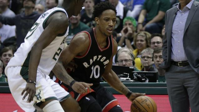 Raptors even series against Bucks