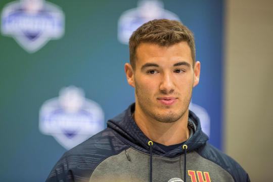 Mitchell Trubisky: One day before the NFL draft