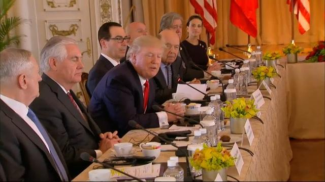 Trump: 'Tremendous Progress' Made With China