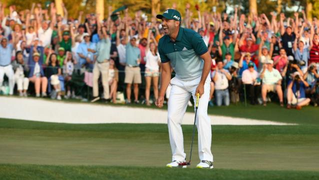 Sergio Garcia wins Masters for breakthrough first major
