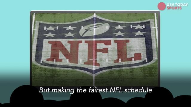 How the NFL schedule is made