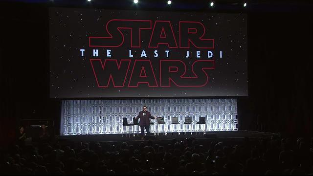 'Star Wars' Celebration: 'The Last Jedi' panel