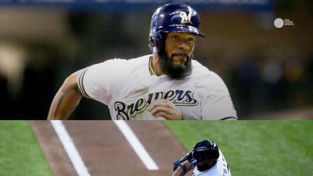 Eric Thames ties Brewers' record with HRs in five games in a row