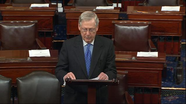 McConnell: 'Supports' Syria Strike