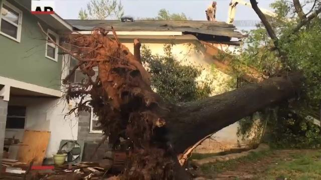 First Round of Severe Storms Hits Southeast