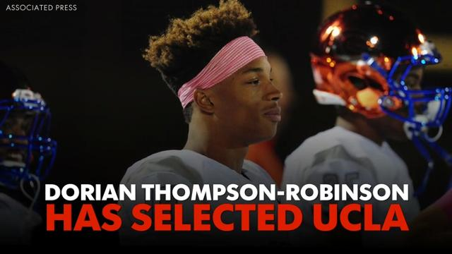 Dorian Thompson-Robinson has selected UCLA