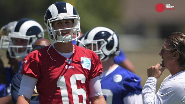 NFC West: Can Rams accelerate Jared Goff's development in Year 2?