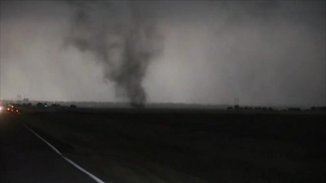 Tornado Touches Down in Chattanooga, Oklahoma