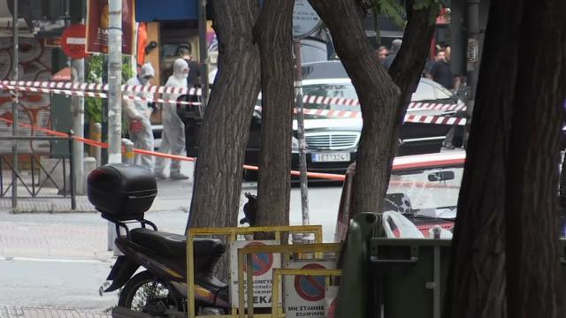 Raw: Greek Ex-Premier Hurt in Athens Bomb Blast