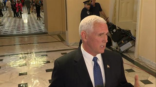 Pence: Trump Made Right Decision at Right Time