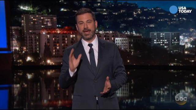 Colbert, Fallon, Kimmel, Corden and Conan slam Trump for bow, curtsy and other contradictions