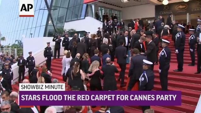 ShowBiz Minute: Grande; Cannes; Cruise