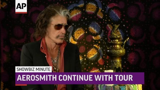 ShowBiz Minute: Cornell; Aerosmith; amfAR