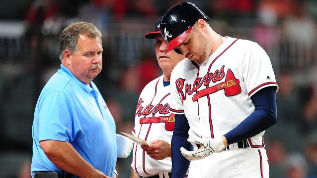 Freeman injury has Braves fans seething