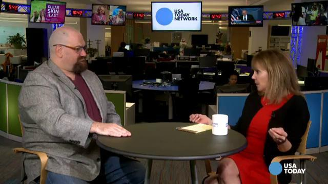 Andrew Walen, CEO of The Body Image Therapy Center, talks to USA TODAY
