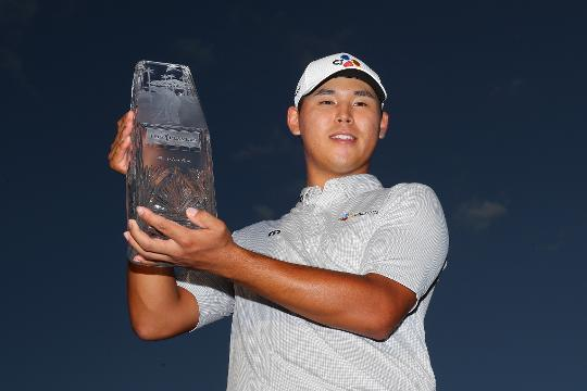 Si Woo Kim shocks field at TPC Sawgrass