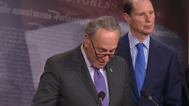 Schumer: Proposed Health Legislation 'A Cancer'