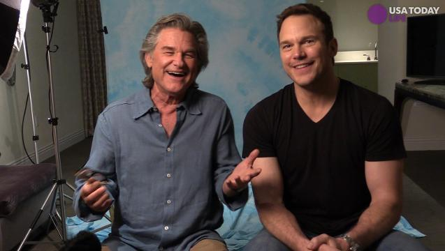 How Chris Pratt and Kurt Russell became space family