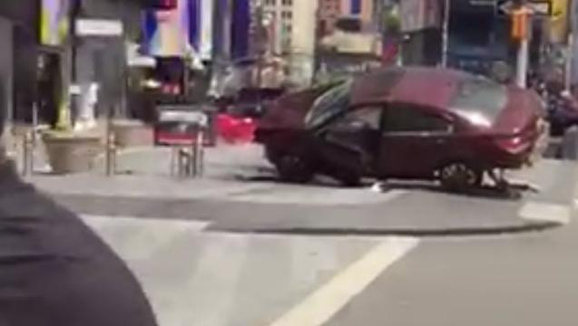 A look at the direct aftermath in Times Square