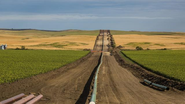 The Dakota access pipeline already sprung a leak