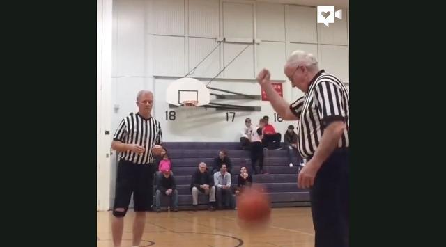 Everyone loves this 86-year-old referee