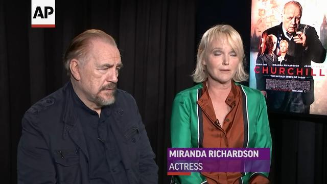 Brian Cox on playing Churchill: 'It's a great part'